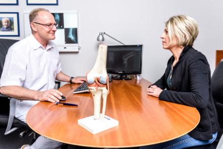 Orthopädie Bonn - Klippert, Mies, Sippel - Beratung bei Arthrose im Knie