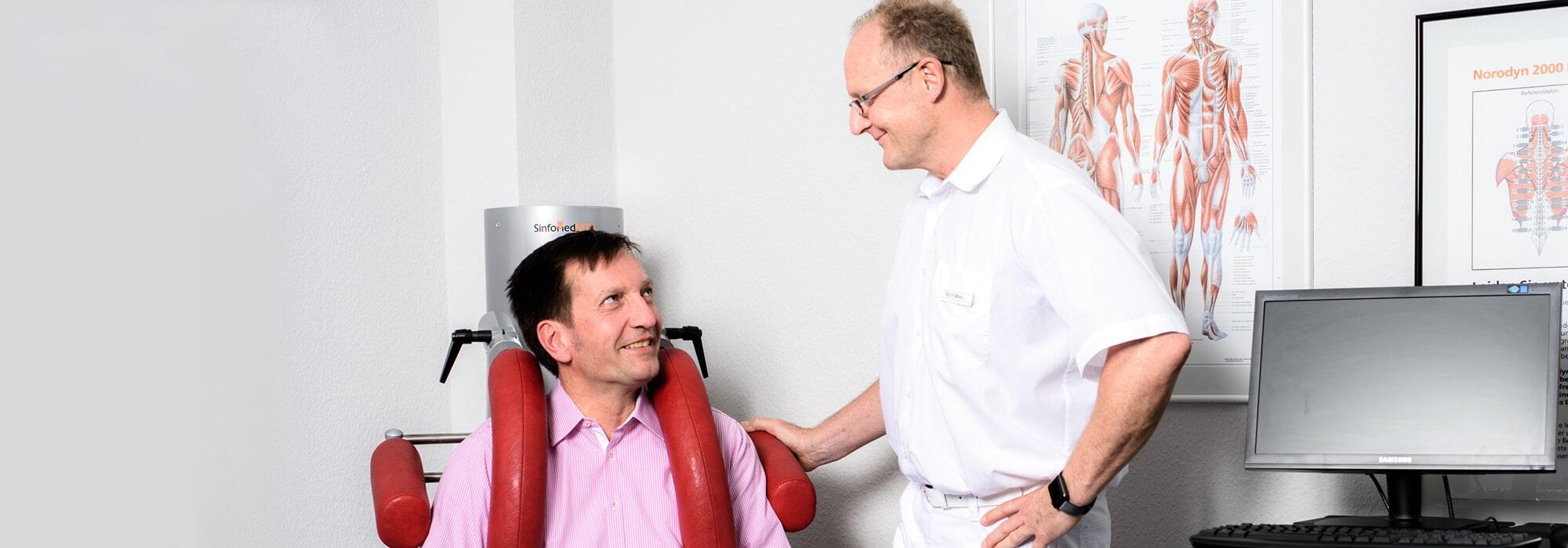 Orthopädie Bonn - Klippert, Mies, Sippel - Muskelfunktionsdiagnostik