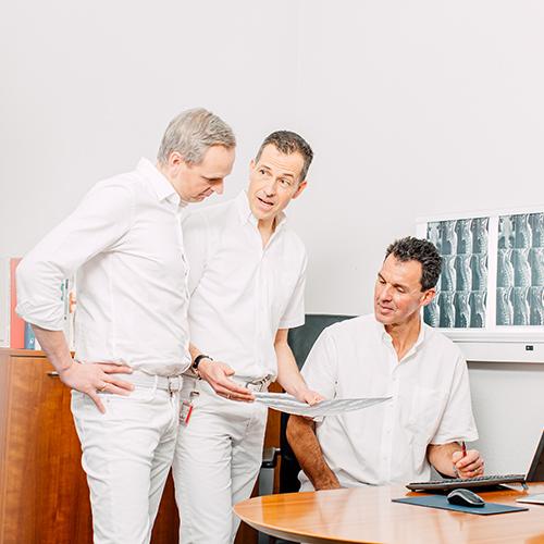 Orthopädie Bonn - Klippert, Sippel, Frenzel - Team